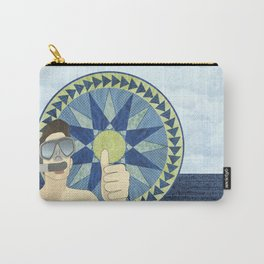 Snorkeling with Mariner's Compass Carry-All Pouch