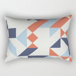 Nautical Geometrics Rectangular Pillow