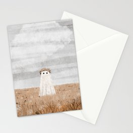 There's a Ghost in the Meadow Stationery Cards