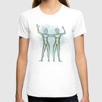 gemini T-shirts featuring Gemini by Vibeke Koehler