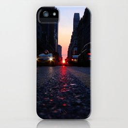 manhattanhenge july 2014 iPhone Case