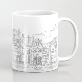 Little street - Amsterdam Coffee Mug