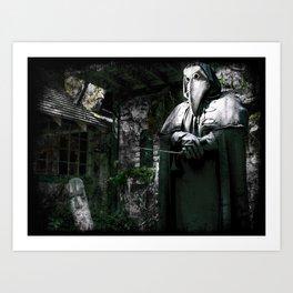 The Plague Doctor Art Print