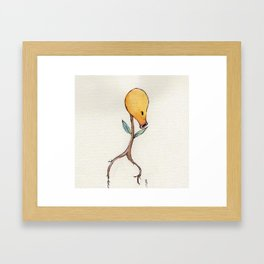 Bellsprout Framed Art Print