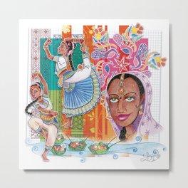India dancer Metal Print