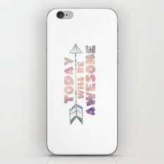 Today will be Awesome iPhone & iPod Skin