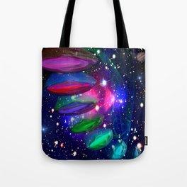 Intergalactic Invasion Tote Bag