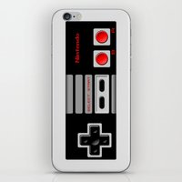 nintendo iPhone & iPod Skins featuring Nintendo Controller by Janismarika