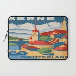 Vintage poster - Berne Laptop Sleeve