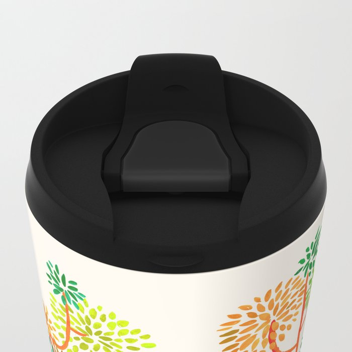 For the tree is the forest Metal Travel Mug