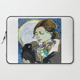 'Communication with the Raven' Laptop Sleeve