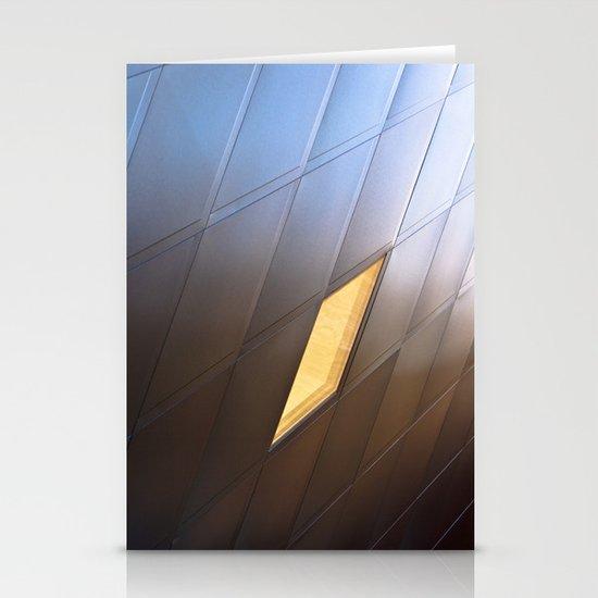 Yellow Diamond Stationery Cards