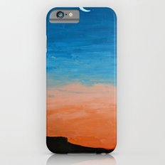 Pre-Dawn Moonrise, painting iPhone 6s Slim Case