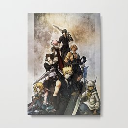 Warriors of the light Metal Print