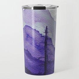 Tonal Mountain Study 2 Purple Travel Mug
