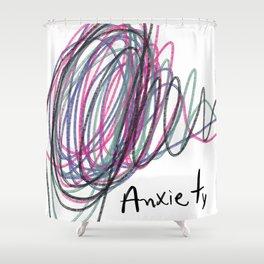 Anxietyy Shower Curtain
