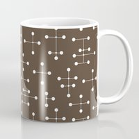 eames Mugs featuring Eames Era Dots 23 by Makanahele