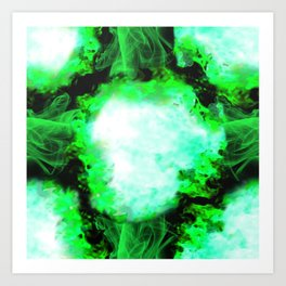 Mind Explosion by B Art Print