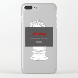 This image would be banned by Facebook Clear iPhone Case