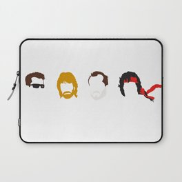 Action Hair Laptop Sleeve