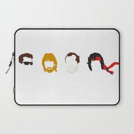 Action Hair Laptop Sleeve