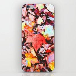 Maple foliage texture iPhone Skin