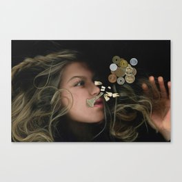 Acid Sticks Canvas Print