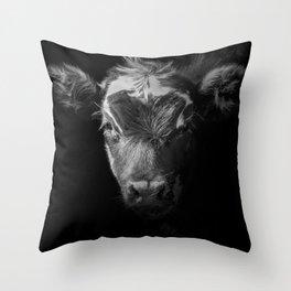 BW Moo Cow Throw Pillow