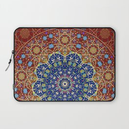 Woven Star in Blue and Red Laptop Sleeve