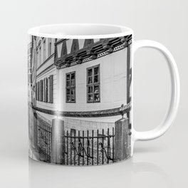 old timbered houses and moat Coffee Mug