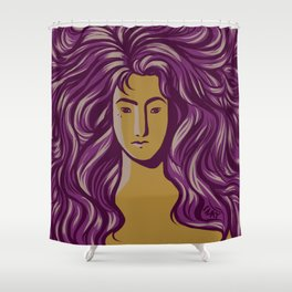 'Cause You're Worth It Shower Curtain