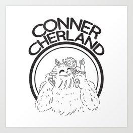 Conner Cherland Logo Art Print