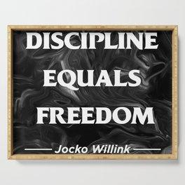 Discipline Serving Tray