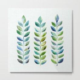 Leafy Goodness III Metal Print