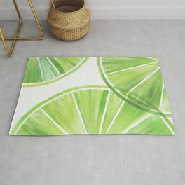 Fresh Lime ~ Summer Citrus Rug