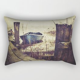 Rugged fisherman Rectangular Pillow