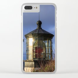 Cape Meares Lighthouse Clear iPhone Case