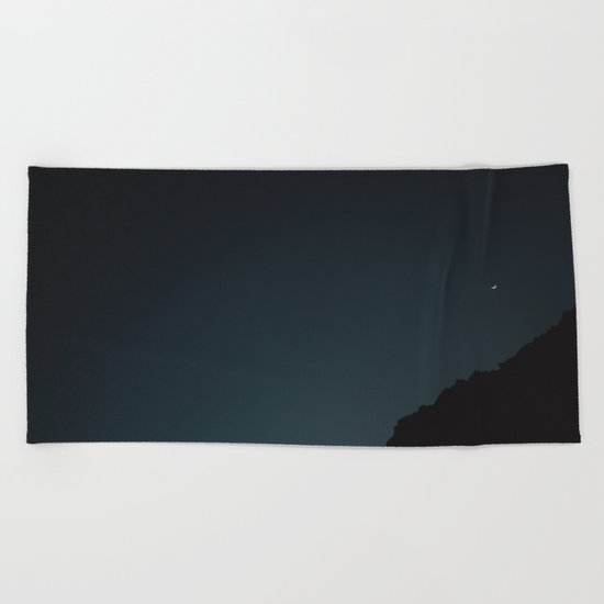 Mexico Moon IV Beach Towel