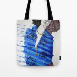 Fish Pajamas Tote Bag