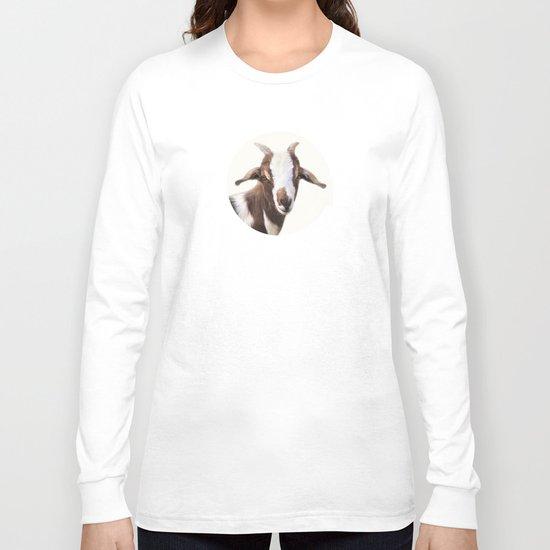 Goat Portrait Long Sleeve T-shirt