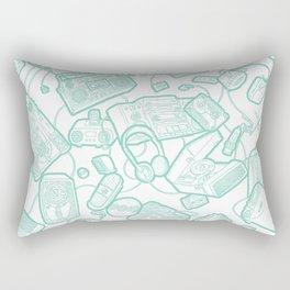 Audiophile Graveyard Rectangular Pillow