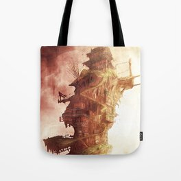 Celestial Plane Tote Bag
