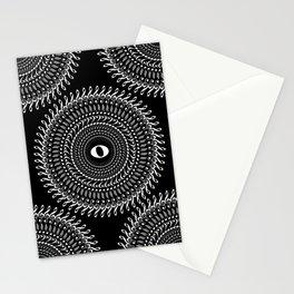 Music mandala no 2 - inverted Stationery Cards