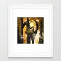 wonderland Framed Art Prints featuring Wonderland  by nicky2342