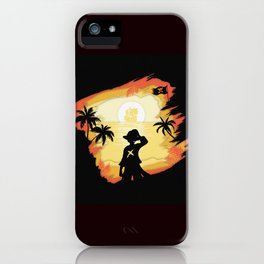 The Pirate King iPhone Case