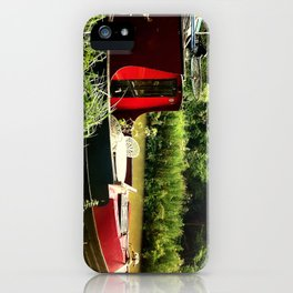 At Home on the Avon iPhone Case