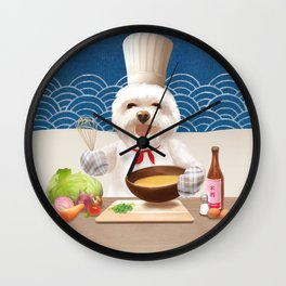 Little Chef Wall Clock