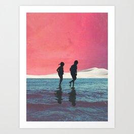 Until Dusk Art Print