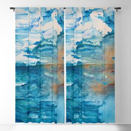 Save The Oceans, Cabo Beaches Blackout Curtain