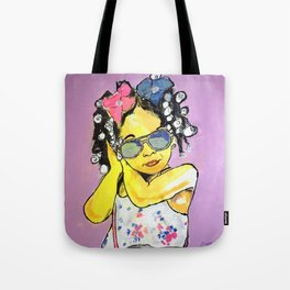 fash·ion·is·ta Queen Tote Bag